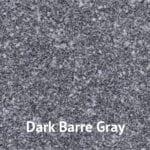 Dark Barre Gray granite