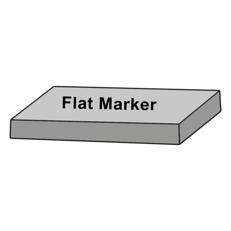 Flat Marker