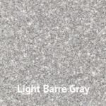 Light Barre Gray granite